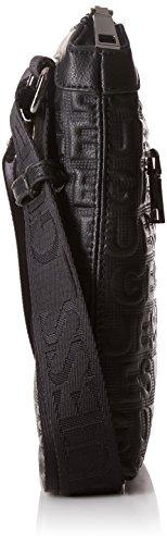 Guess HM6104POL73 Bolso con bandolera Hombre Negro (Nero)