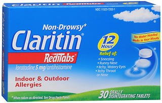 Claritin 12 Hour Allergy RediTabs - 30 Tablets, Pack of 4