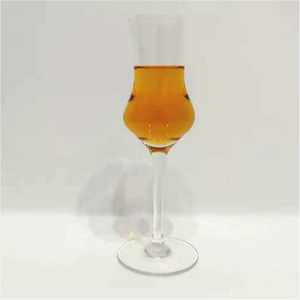 Whisky Vaso Cristal Copa 100 Ml Vaso De Cata De Whisky Vaso De Cristal Vaso De Whisky Sommelier De Vidrio Doble Masculino Y Femenino Vaso De Olor Especial, Femenino