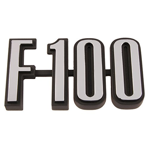 """DENNIS CARPENTER FORD RESTORATION PARTS """"F-100 1973-1976 FORD TRUCK F-SERIES NAME PLATE"""