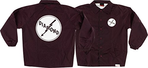 Price comparison product image Diamond Lightning Coaches Jacket L-Burgundy