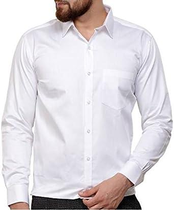 White Horse - Camisa Formal - con Botones - para Hombre: Amazon.es: Ropa y accesorios