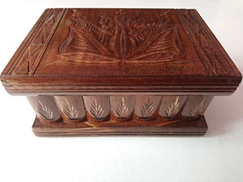 Nueva hermosa caja mágica, misteriosa caja, puzzle caja, caja ...