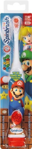 Spinbrush Super Mario Powered Kids Toothbrush by Church & Dwight - Personal Care