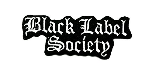 Wasuphand BLS Gifd Black Label Society Heavy Metal Rockabilly Rock Band Patch Sew On Iron Embroidered Heavy Metal Music DIY Bag Vest Gift Jeans Denim Badge