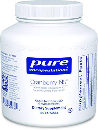 Pure Encapsulations – Cranberry NS – Hypoallergenic Supplement to Support Urinary Tract Health* – 180 Capsules Review