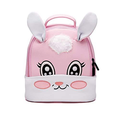 Cute Anime Backpack Neoprene Waterproof Shoulder Bag Rabbit