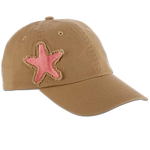 Star Fish Costume (Panama Jack Women's Baseball Cap - Packable, Lightweight Cotton Twill, 3