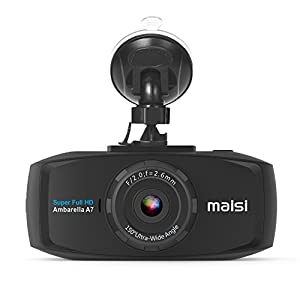 MAISI 2K Extreme HD Pro 1296P Car Dash Camera, 2.7-Inch