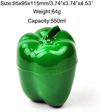TUOLUO Küchenessen Knusprig Gemüsebehälter Zwiebel Knoblauch Knoblauch Avocado Tomate Zitrone Grüner Pfeffer Frische Aufbewahrungsbox Grün