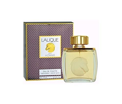 Lâlique Poùr Homme Cologne for Men 2.5oz Eau de Toilette Spray (Horse ()