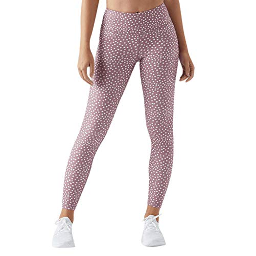 Steagoner Yoga Leggings for Women high Waist Yoga Leggings with Pockets for Women Yoga Leggings Petite Pink