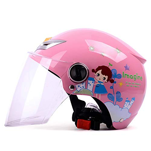 Motorcycle Helmet for Children,Children's Helmet,Size Head Circumference is Less Than 55CM one Size Code Helmets for Electric Bicycle Bicycle Motocross