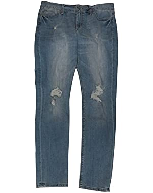 Women's Brooke Skinny Blue Denim Jeans, Size 12/31