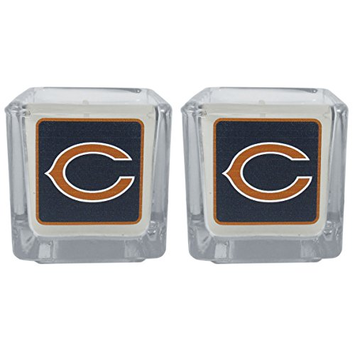 NFL Chicago Bears Graphics Candles, Set of 2