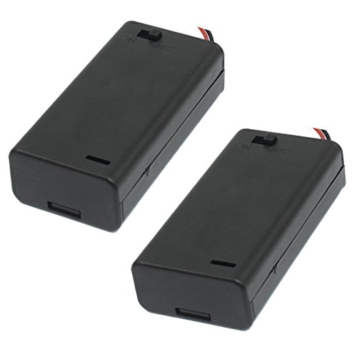 x1 5V Battery Holder Switch Wires product image