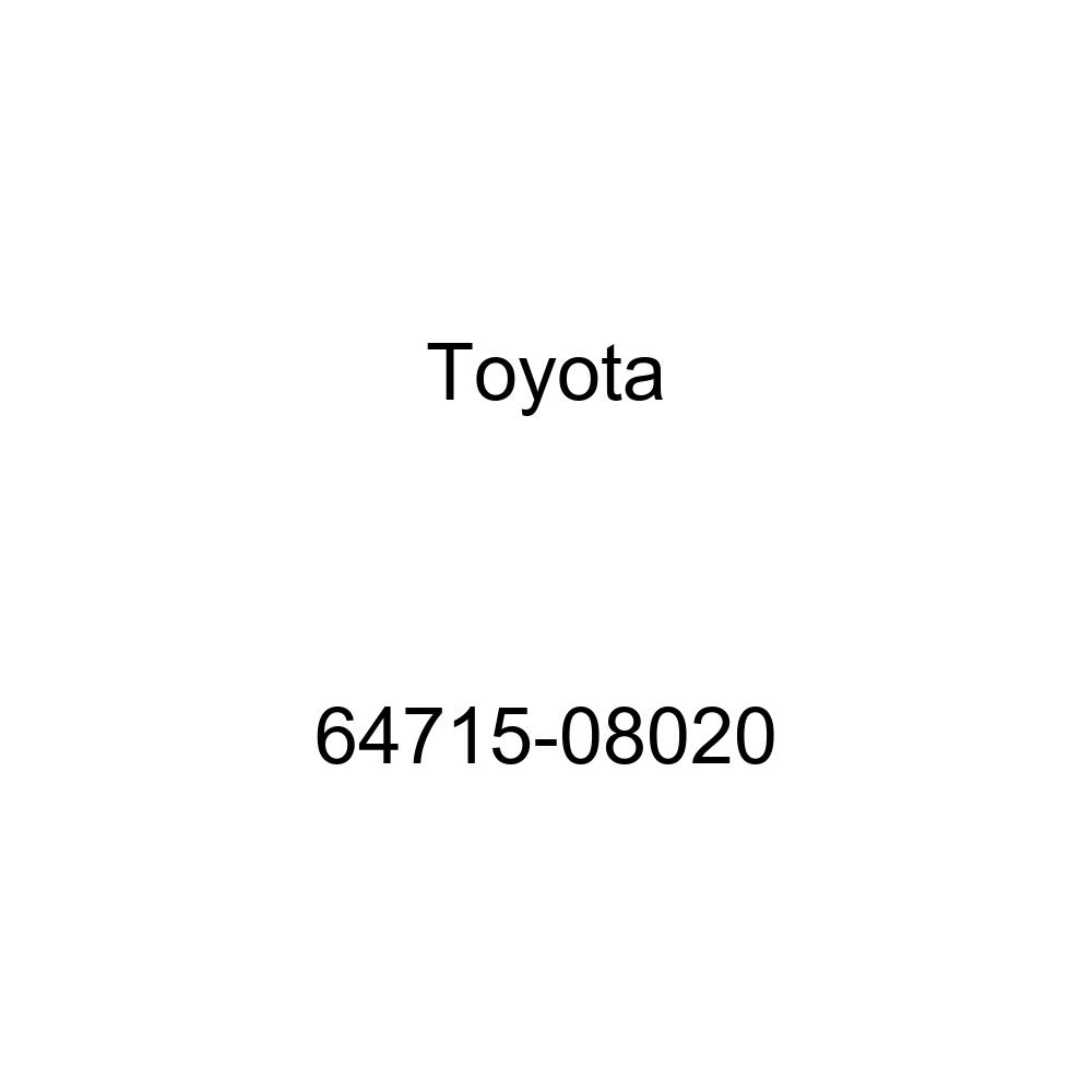 Toyota 64715-08020 Deck Side Trim Cover