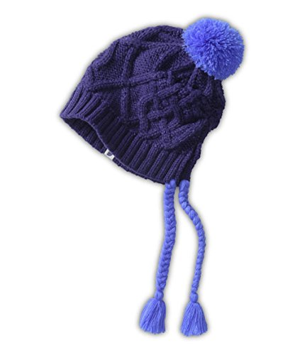 The North Face Flecka Earflap Beanie Garnet Purple/Starry Purple OS