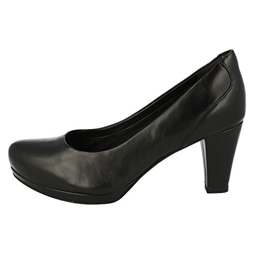 Clarks Chorus Chic, Zapatos de Tacón Mujer negro