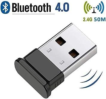 Bluetooth USB PC,Adaptador Bluetooth 5.0 USB Dongle,Bluetooth Transmisor y Receptor para PC/TV/Coche/Hogar, Auriculares, Teclado, Mouse y más: Amazon.es: Electrónica