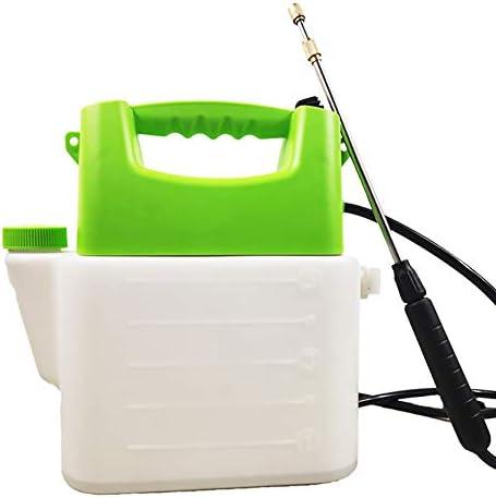 5L自動電気スプレーボトル、バッテリー式噴霧器多目的噴霧器、園芸施肥洗浄用ショルダーストラップ付き