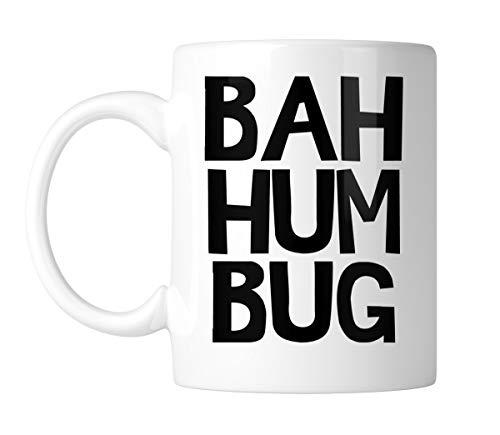 SpiritForged Apparel Bah Humbug 11oz White Coffee Mug (1 Mug) -