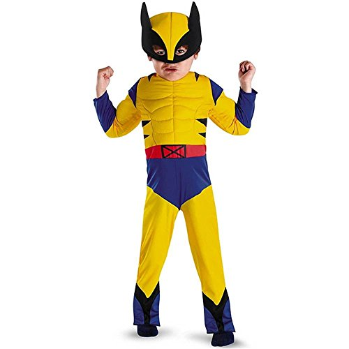 Wolverine Muscle Costume - Toddler Medium (Wolverine Muscle Costume)