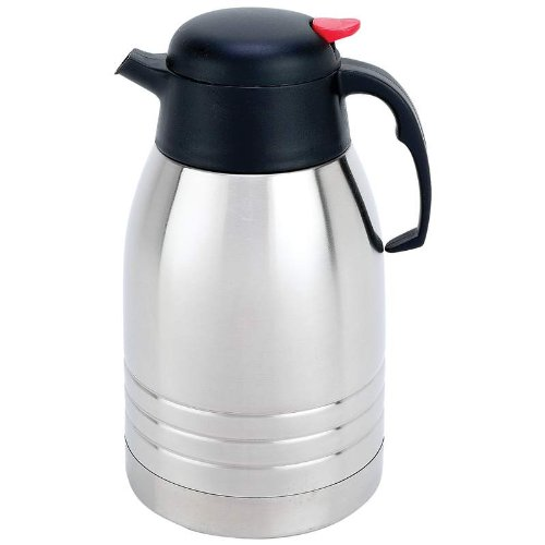 Maxam KTVCCFPT Stainless Steel Vacuum Coffee Pot, 2 quart