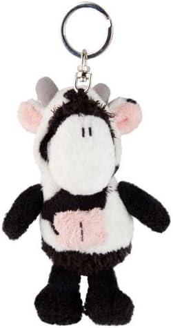 Sheepworld 41584 - Llavero de oveja de peluche con disfraz de vaca ...