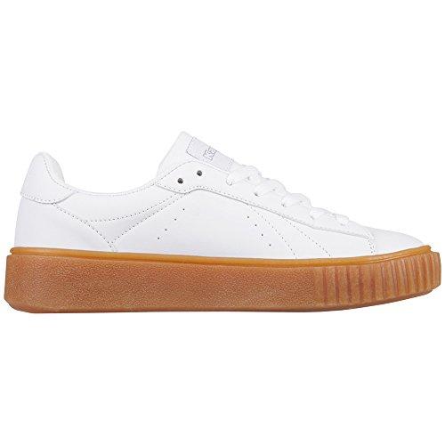White 1010 1010 White Kappa Meseta Bianco PF Donna Sneaker qxYwz1p