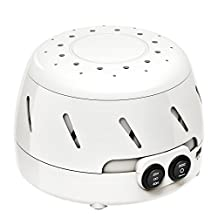 White Noise Sound Machine, [Improved Version]Pictek Sleep Machine, Rushing Air Sound Therapy Conditioner Spa Relaxation Machines with Timer Function, Peaceful Breathing Light, 2 USB Output