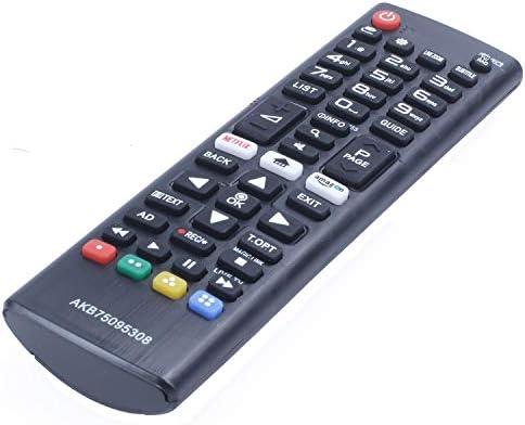 ACAMPTAR TV/Pc Control Remoto para Smart Led TV Akb75095308 55Uj630V 65Uj630V 43Uj630V: Amazon.es: Electrónica