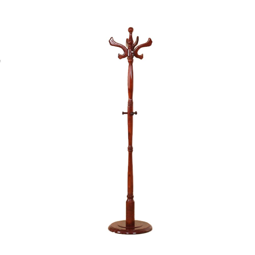 I 185x42cm(73x17inch) with Shelf Coat Rack, Entryway Coat Stand, Coat hat Tree, Hat Hanger Holder, Premium Home Hall Classical-C 180x42cm(71x17inch)