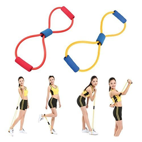 Resistance Band Handles - Exercise Bands With Handles - Fitn