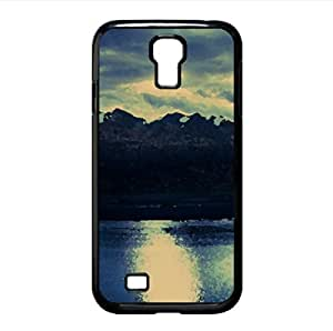 lintao diy Queenstown, New Zealand Watercolor style Cover Samsung Galaxy S4 I9500 Case (New Zealand Watercolor style Cover Samsung Galaxy S4 I9500 Case)