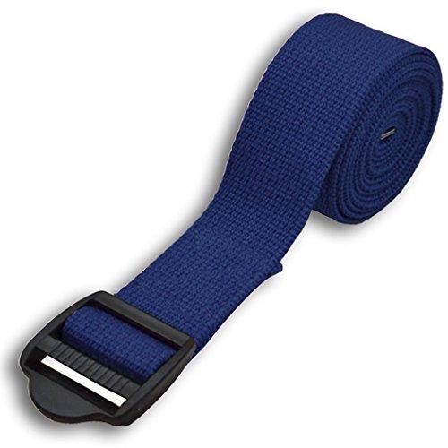 YogaAccessories 8' Cinch Buckle Cotton Yoga Strap
