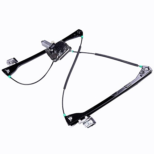 ECCPP Front Right Power Window Regulators with Motor Assembly Replacement Parts fit for 2002-2007 Buick Rendezvous 2001-2005 Pontiac Aztek 10322522 10376805 15911245 (Buick Motor Rendezvous Window)