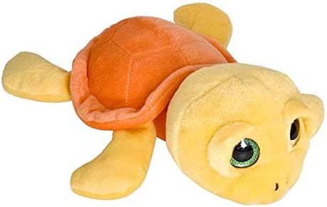 Wild Planet Medium Floppys Yellow Sea Turtle Soft Plush Toy - 4 Years & Above