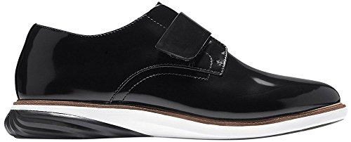 Modern Leather s Haan Cole Monk GrandEvOlution Women Black wfxHqS