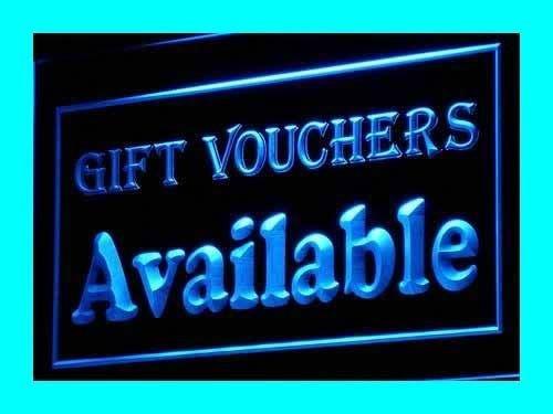 PEMA Neon Sign i110-b Gift Vouchers Neon Light sign