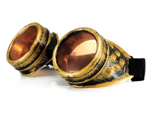 Gafas sol de Dorado morefaz para hombre 01vxxaZ