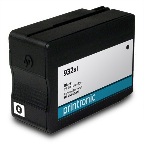Remanufactured HP 932xl CN053AN 5 Black for OfficeJet 6100 OfficeJet 6600 OfficeJet 6700 OfficeJet 7110 OfficeJet 7610 Ink Cartridges for Inkjet Printers (5 Pack) Photo #2