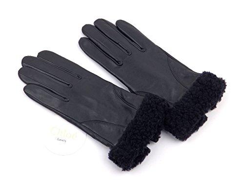 びっくり生き返らせる毎週(クロエ) Chloe 羊革手袋 CH0124-19cm