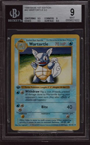 Wartortle-1st-edition-42102-Pokemon-Original-Base-Set-SHADOWLESS-BGS-9-Mint-PSA-10-POP2-Graded-Trading-Card-CCG