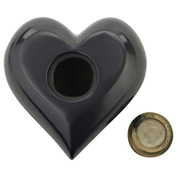 Silverlight Urns Paw Print Heart Keepsake Urn for Pet Ashes, Dog Ashes, or Cat Ash, Holds 1.5 Cups
