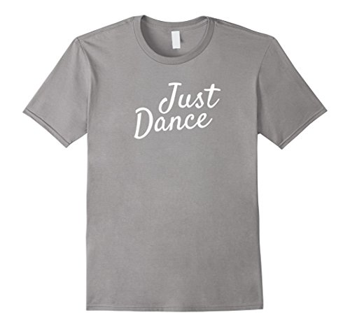 Mens Just Dance T-Shirt Medium Slate