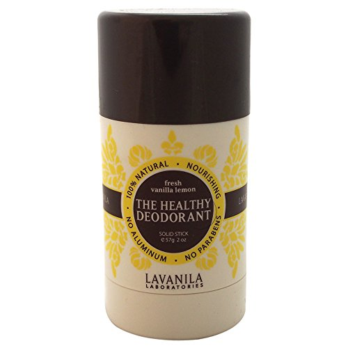 Lavanila The Healthy Deodorant, Fresh Vanilla Lemon, 2 Fluid Ounce