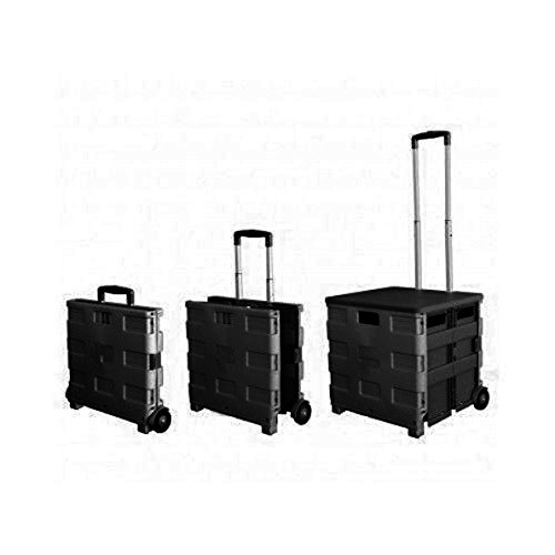 - Royal Collapsible Heavy-Duty Folding Office Cart with LID Mobile Filing Cart