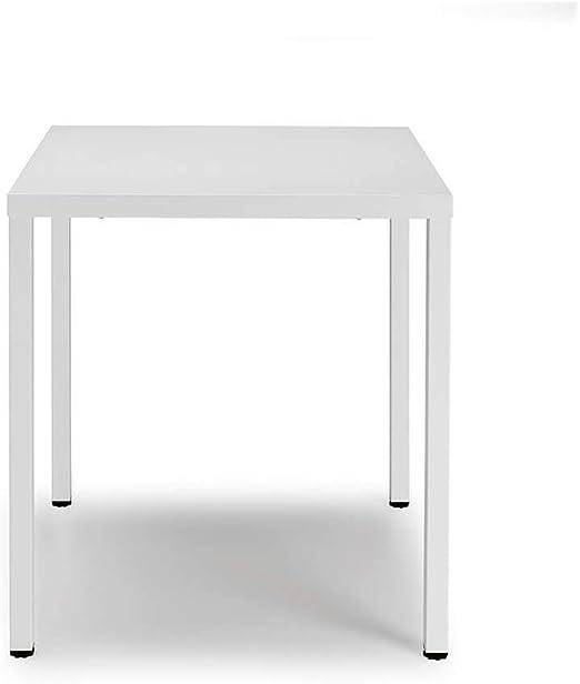 Scab Design Summer mesa cuadrada de 70x70 cm blanca: Amazon.es: Hogar