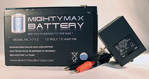Mighty Max Battery 12V 10AH Replaces MFG Master Gardener Cart Sprayer + 12V Charger brand product
